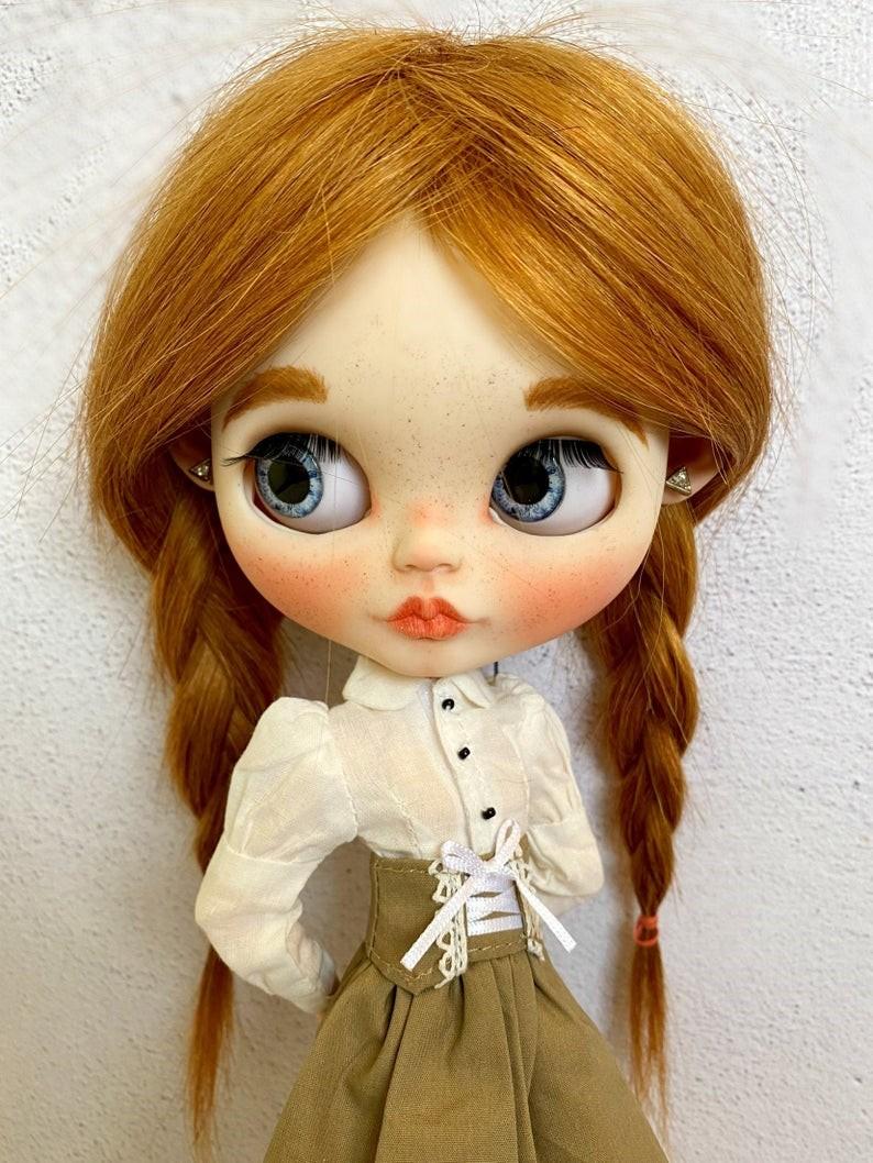 Polett – Custom Blythe Doll One-Of-A-Kind OOAK
