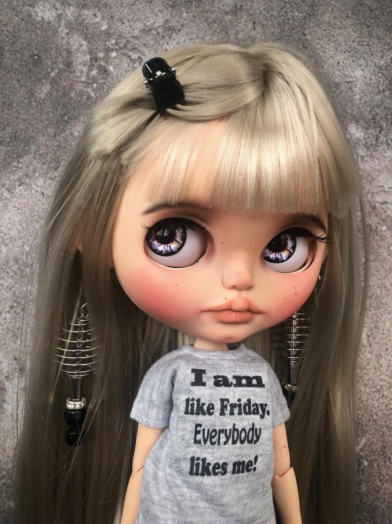 Pyatnitsa – Custom Blythe Doll One-Of-A-Kind OOAK Custom Blythe Doll (OOAK)