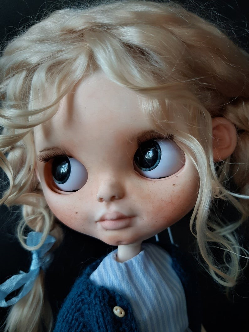 Rebekah – Custom Blythe Doll One-Of-A-Kind OOAK Custom Blythe Doll (OOAK)