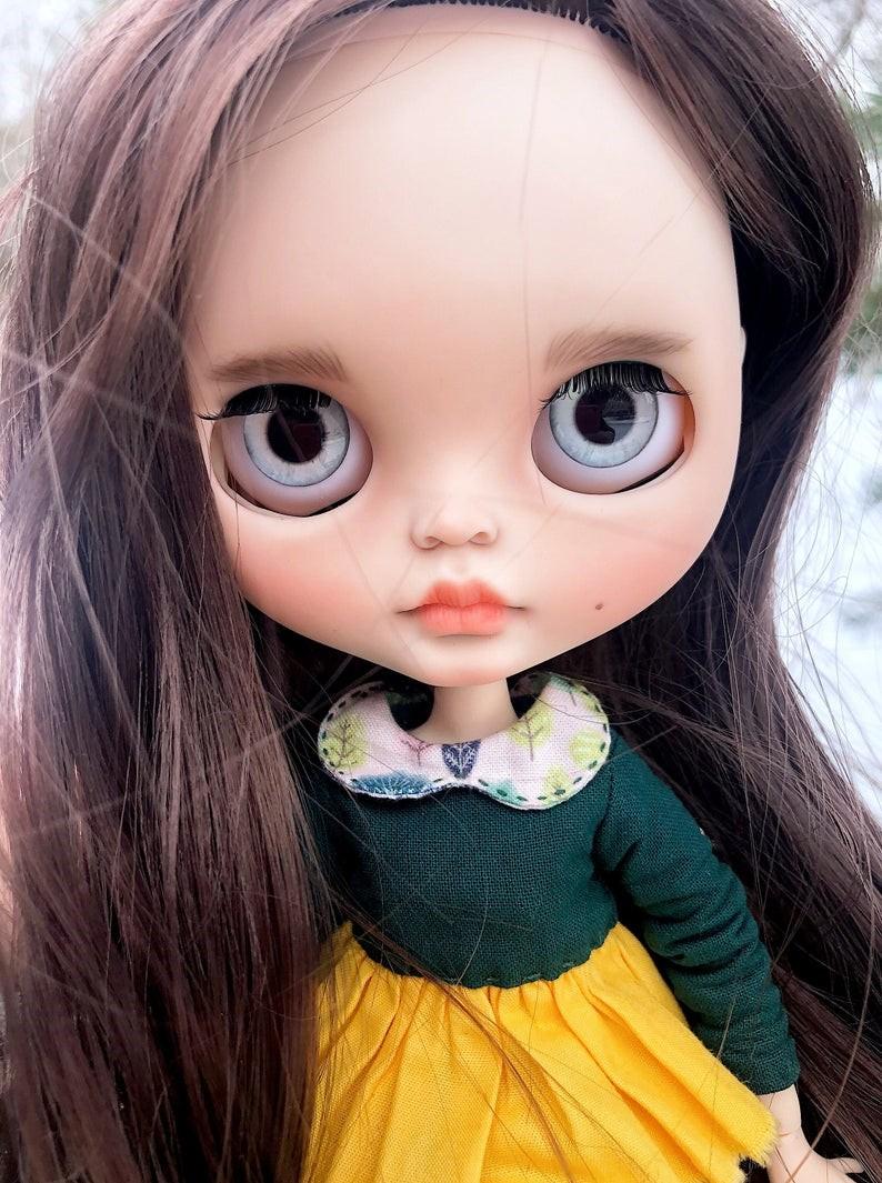 Rebekah – Custom Blythe Doll One-Of-A-Kind OOAK