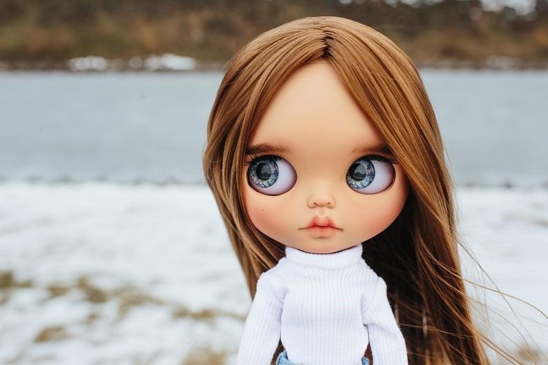 Rubi – Custom Blythe Doll One-Of-A-Kind OOAK Custom Blythe Doll (OOAK)