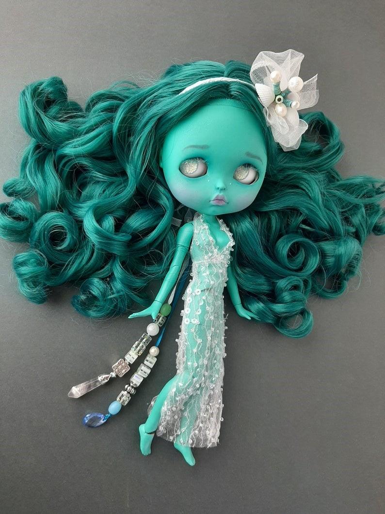 Undine – Custom Blythe Doll One-Of-A-Kind OOAK Custom Blythe Doll (OOAK)