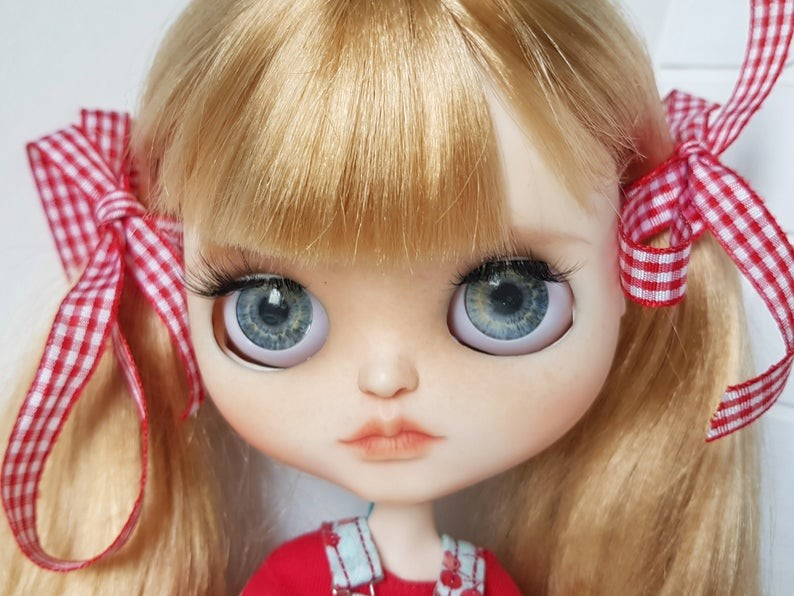 Aleksa – Custom Blythe Doll One-Of-A-Kind OOAK Custom Blythe Doll (OOAK)