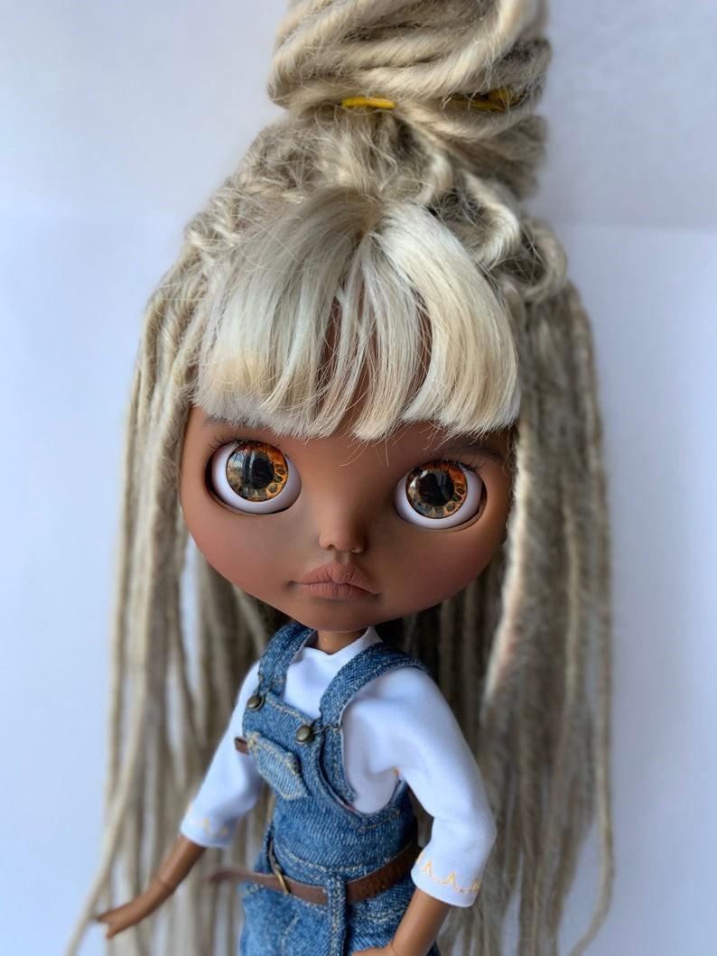 Alyssa – Custom Blythe Doll One-Of-A-Kind OOAK Custom Blythe Doll (OOAK)