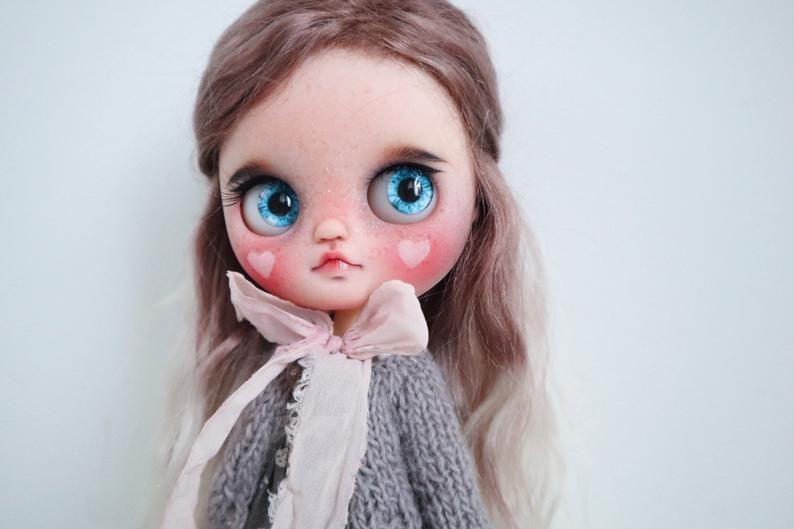 Anastasia – Custom Blythe Doll One-Of-A-Kind OOAK Custom Blythe Doll (OOAK)