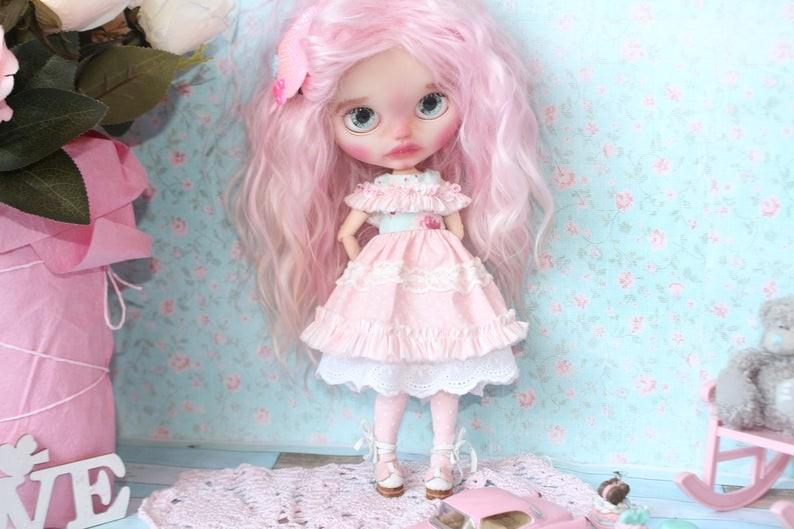 Ash – Custom Blythe Doll One-Of-A-Kind OOAK Custom Blythe Doll (OOAK)