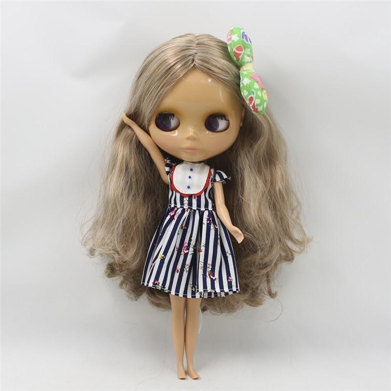 Neo Blythe Doll Black White Frock Neo Blythe Doll Clothes