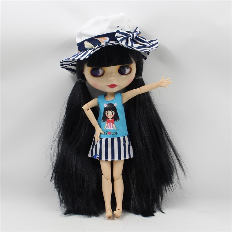 Neo Blythe Doll Nice Dress With Hat Neo Blythe Doll Clothes