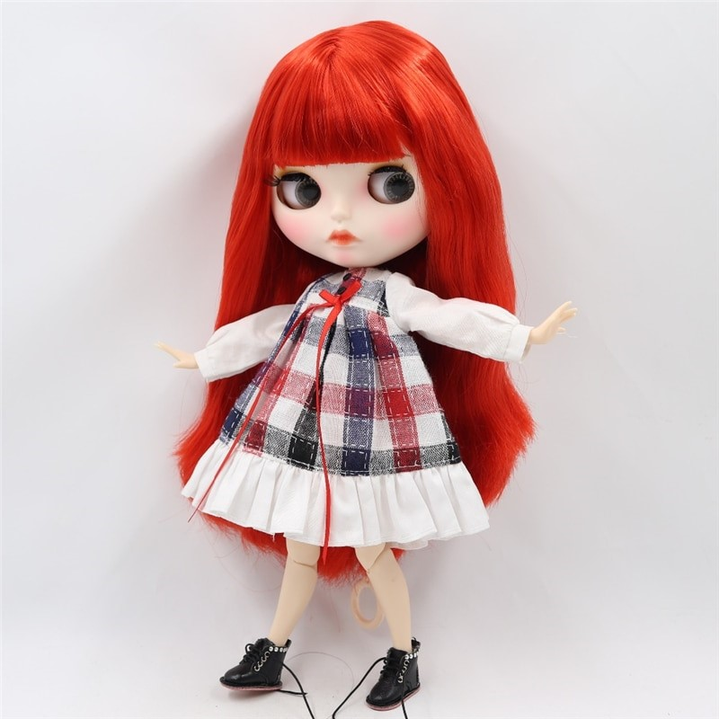 Neo Blythe Doll White Frock Neo Blythe Doll Clothes