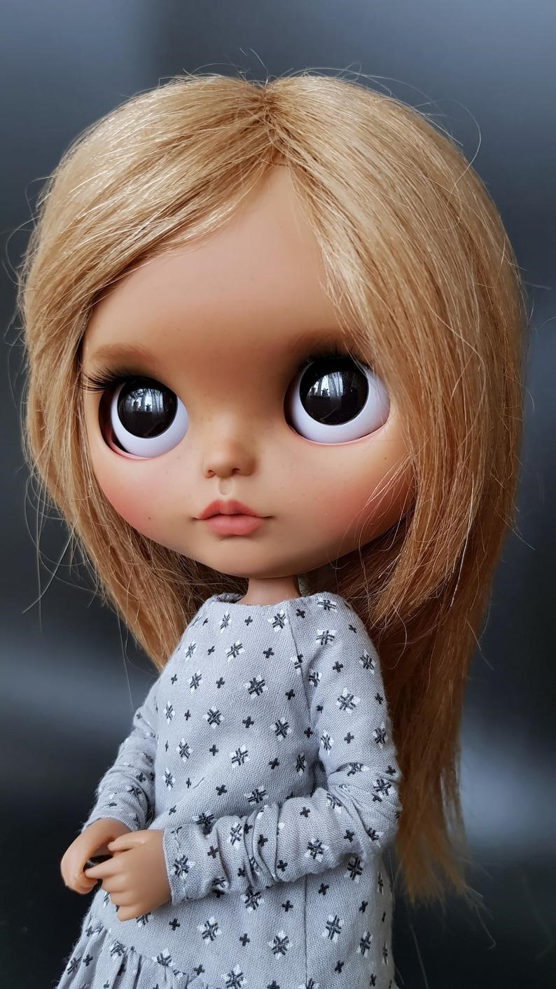 Pupa – Custom Blythe Doll One-Of-A-Kind OOAK Custom Blythe Doll (OOAK)