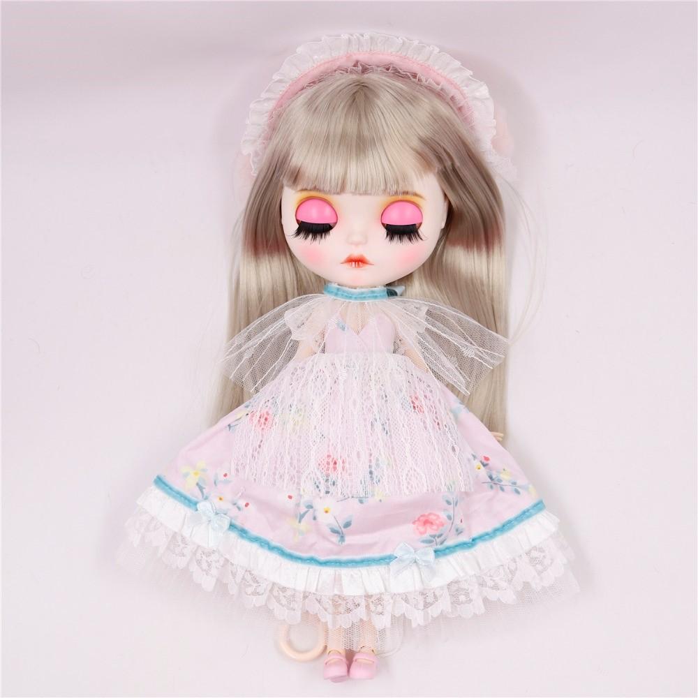 Quinn – Premium Custom Blythe Doll with Full Outfit Cute Face Cute Face Blythes
