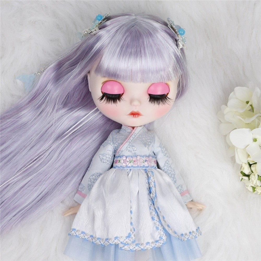 Rosemary – Premium Custom Blythe Doll with Full Outfit Cute Face Cute Face Blythes