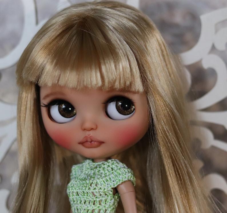 Suok – Custom Blythe Doll One-Of-A-Kind OOAK Custom Blythe Doll (OOAK)