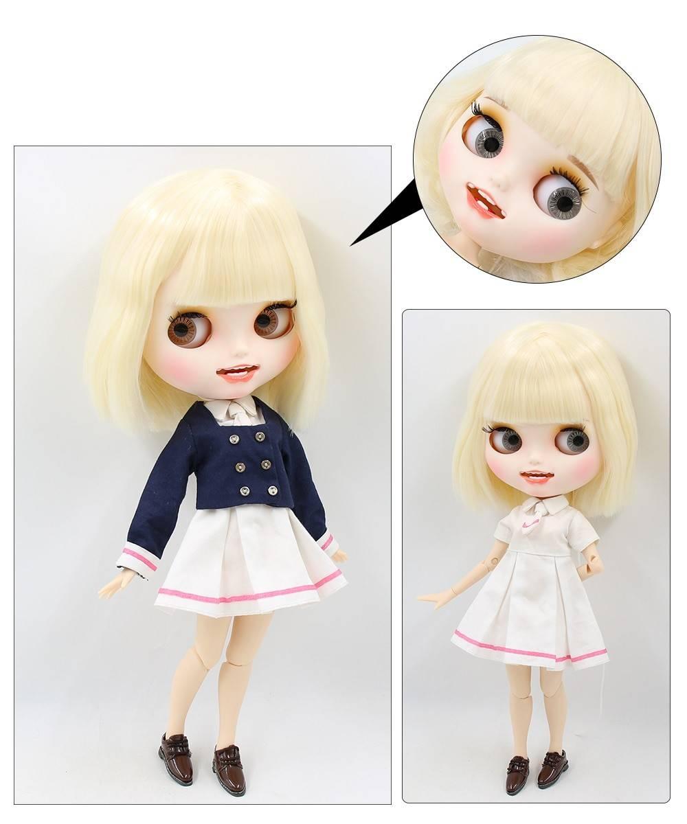 TBL Neo Blythe Doll Blonde Hair Jointed Body Blonde Hair Blythe