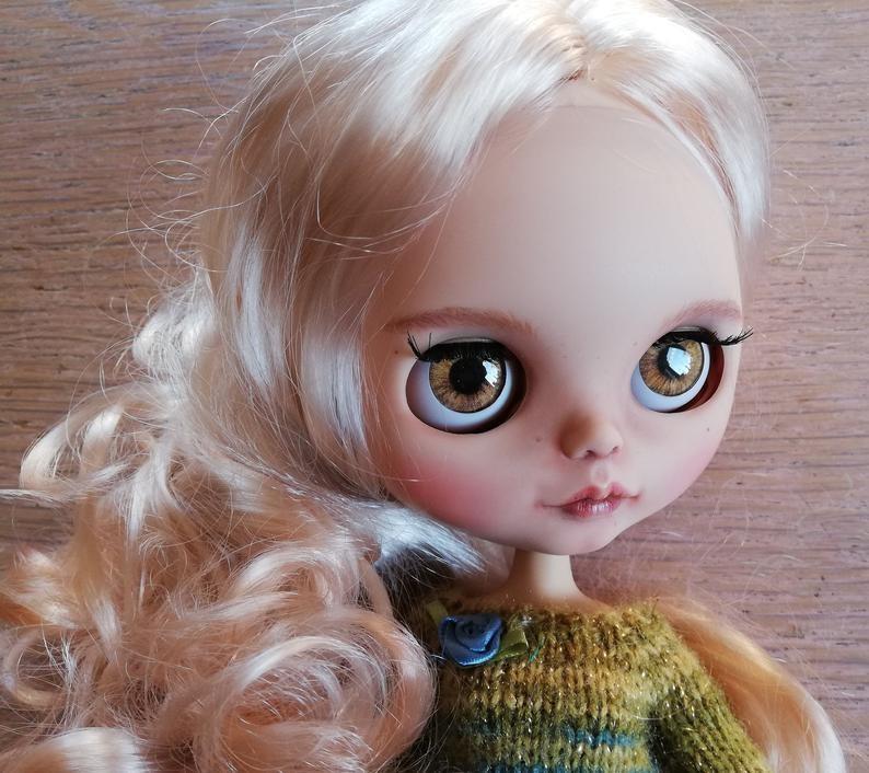 Tabata – Custom Blythe Doll One-Of-A-Kind OOAK Custom Blythe Doll (OOAK)