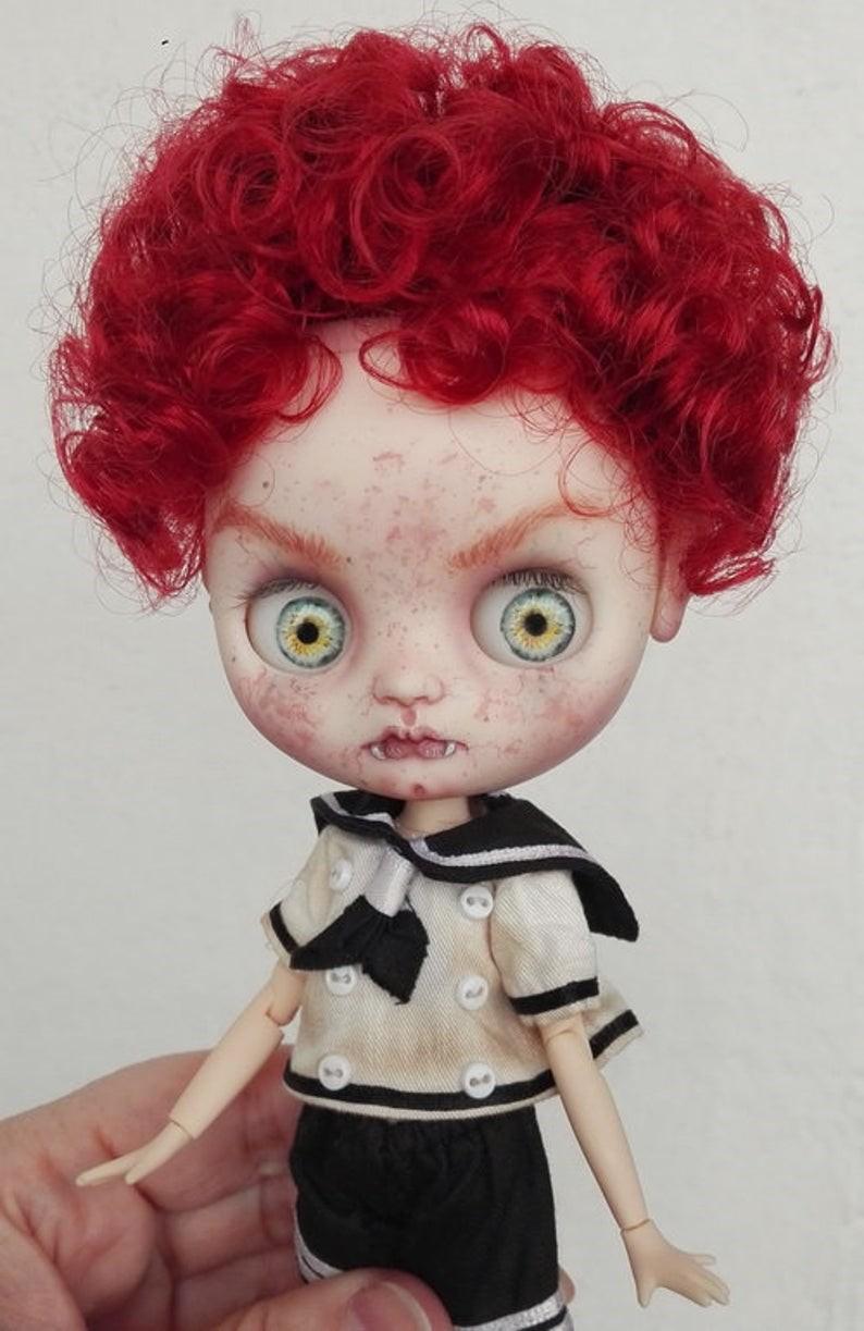 Xander – Custom Blythe Doll One-Of-A-Kind OOAK Custom Blythe Doll (OOAK)