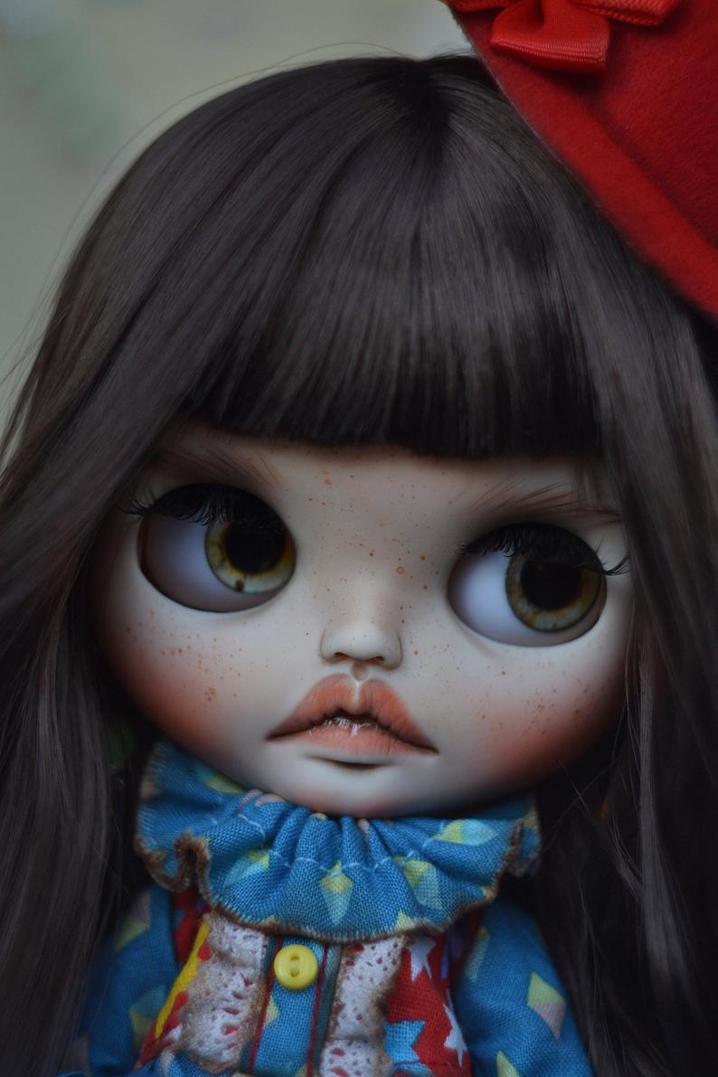 Elise – Custom Blythe Doll One-Of-A-Kind OOAK Custom Blythe Doll (OOAK)