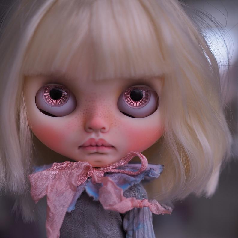 Yoko – Custom Blythe Doll One-Of-A-Kind OOAK Custom Blythe Doll (OOAK)