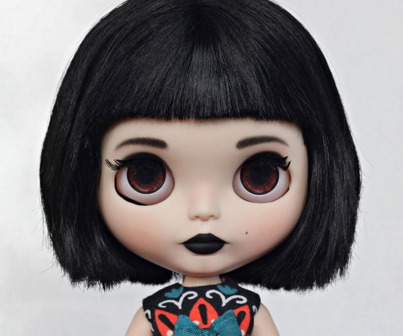 Elliana – Custom Blythe Doll One-Of-A-Kind OOAK Custom Blythe Doll (OOAK)