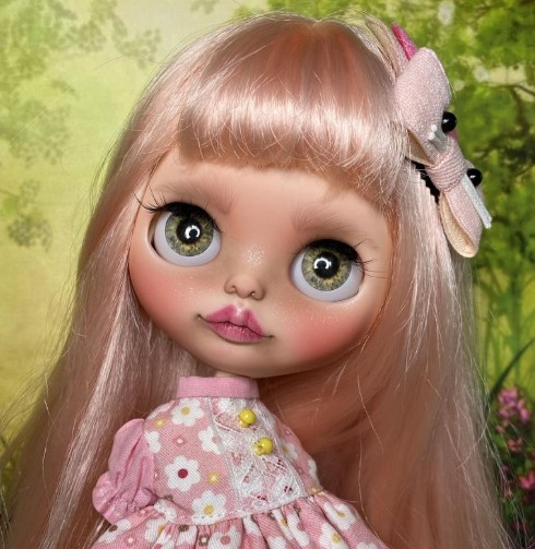Ada – Custom Blythe Doll One-Of-A-Kind OOAK