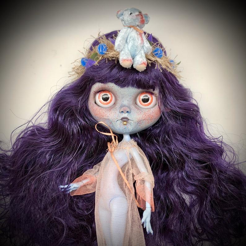Alice - Custom Blythe Doll One-Of-A-Kind OOAK Custom Blythe Doll (OOAK)