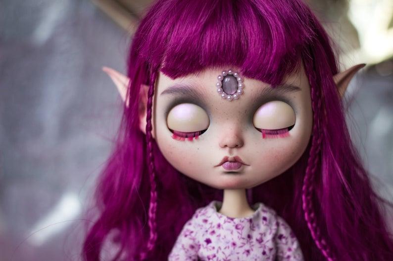 Allie - Custom Blythe Doll One-Of-A-Kind OOAK Custom Blythe Doll (OOAK)