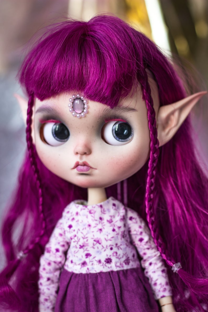 Allie - Custom Blythe Doll One-Of-A-Kind OOAK