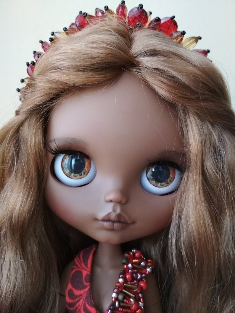 Barbara - Custom Blythe Doll One-Of-A-Kind OOAK Custom Blythe Doll (OOAK)