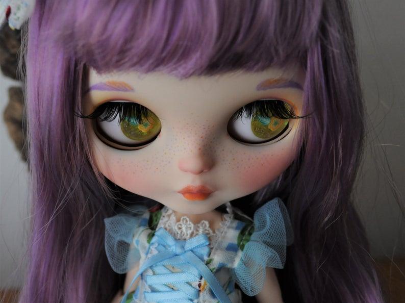 Capucine - Custom Blythe Doll One-Of-A-Kind OOAK Custom Blythe Doll (OOAK)