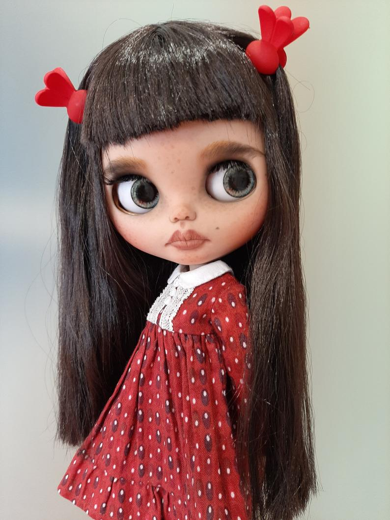 Darcey - Custom Blythe Doll One-Of-A-Kind OOAK Custom Blythe Doll (OOAK)