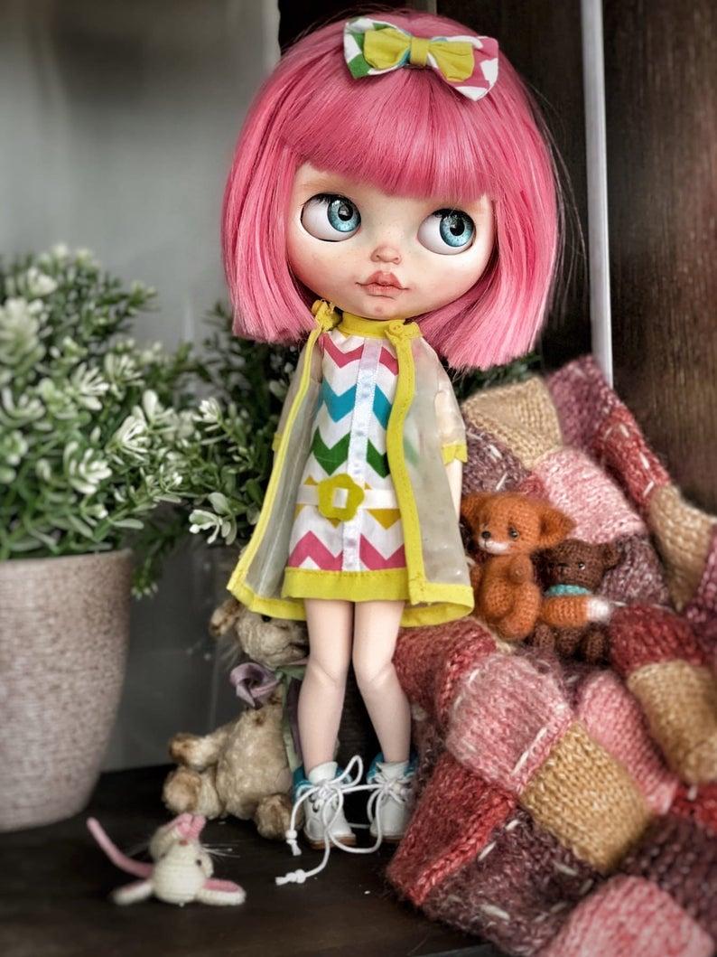 Eleanor - Custom Blythe Doll One-Of-A-Kind OOAK Custom Blythe Doll (OOAK)