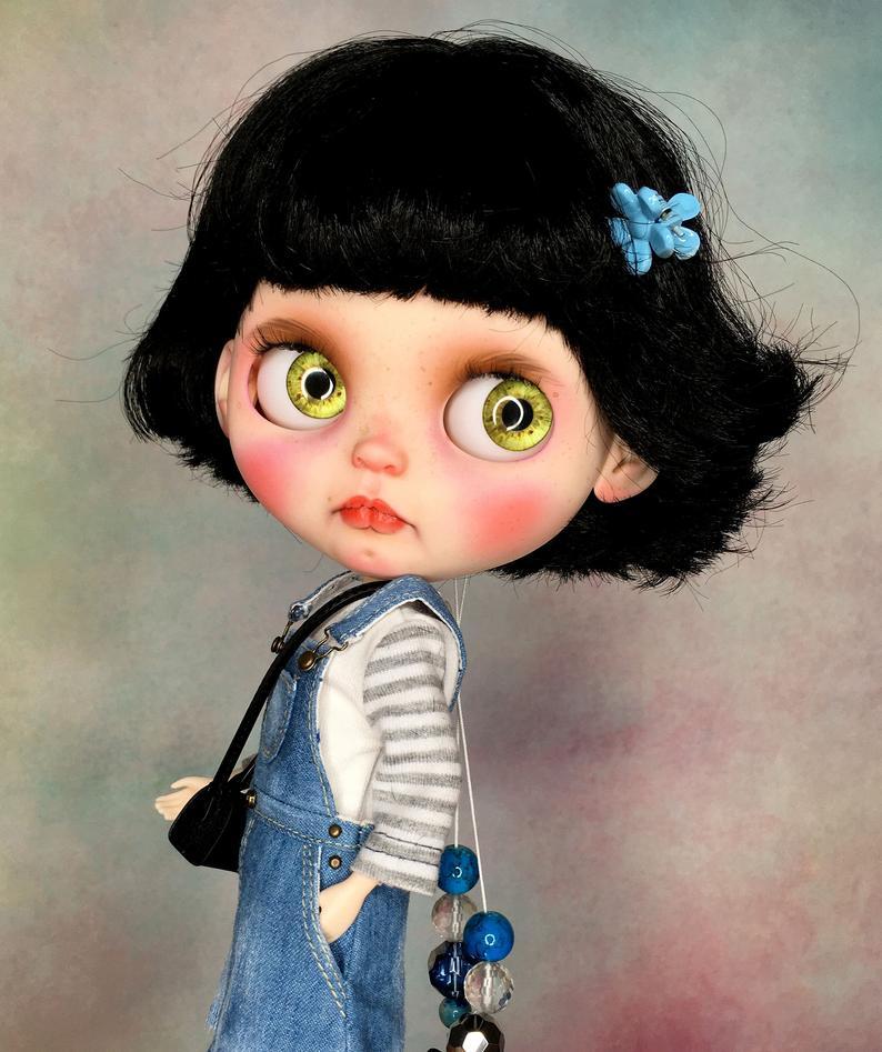 Emily - Custom Blythe Doll One-Of-A-Kind OOAK