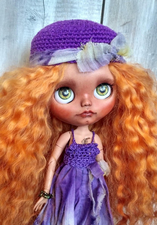 Emily - Custom Blythe Doll One-Of-A-Kind OOAK Custom Blythe Doll (OOAK)