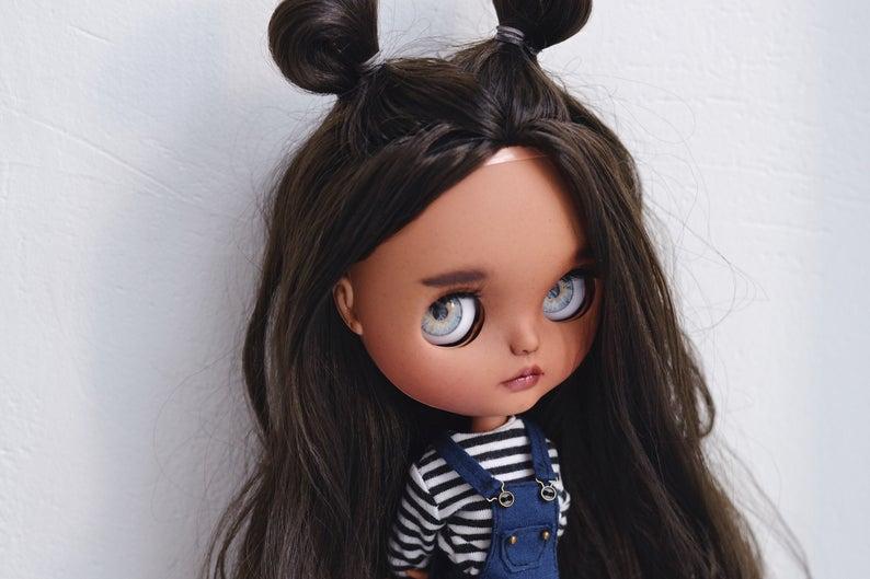 Erin - Custom Blythe Doll One-Of-A-Kind OOAK Custom Blythe Doll (OOAK)