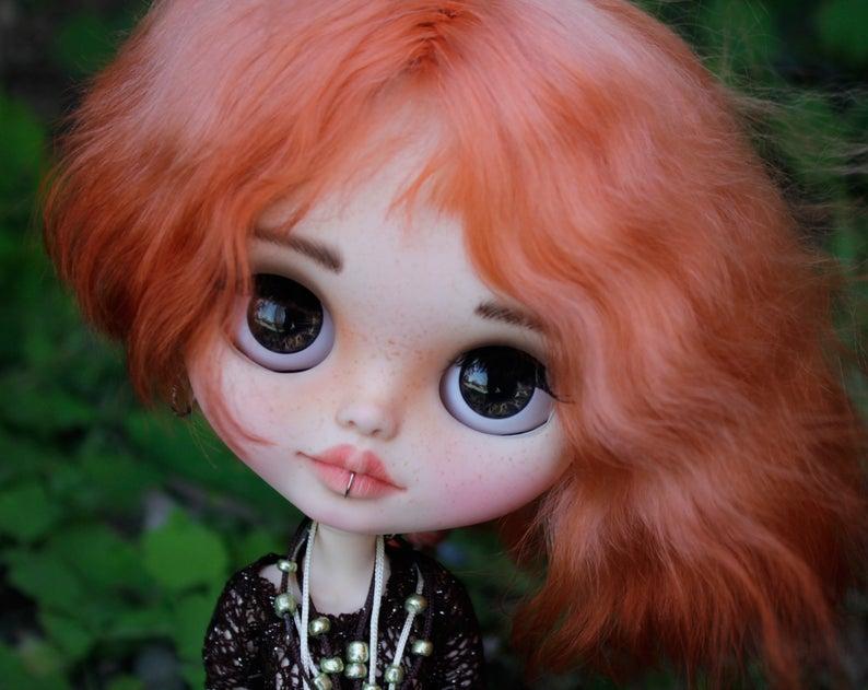 Evelyn - Custom Blythe Doll One-Of-A-Kind OOAK