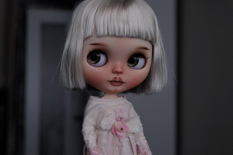 Evie - Custom Blythe Doll One-Of-A-Kind OOAK