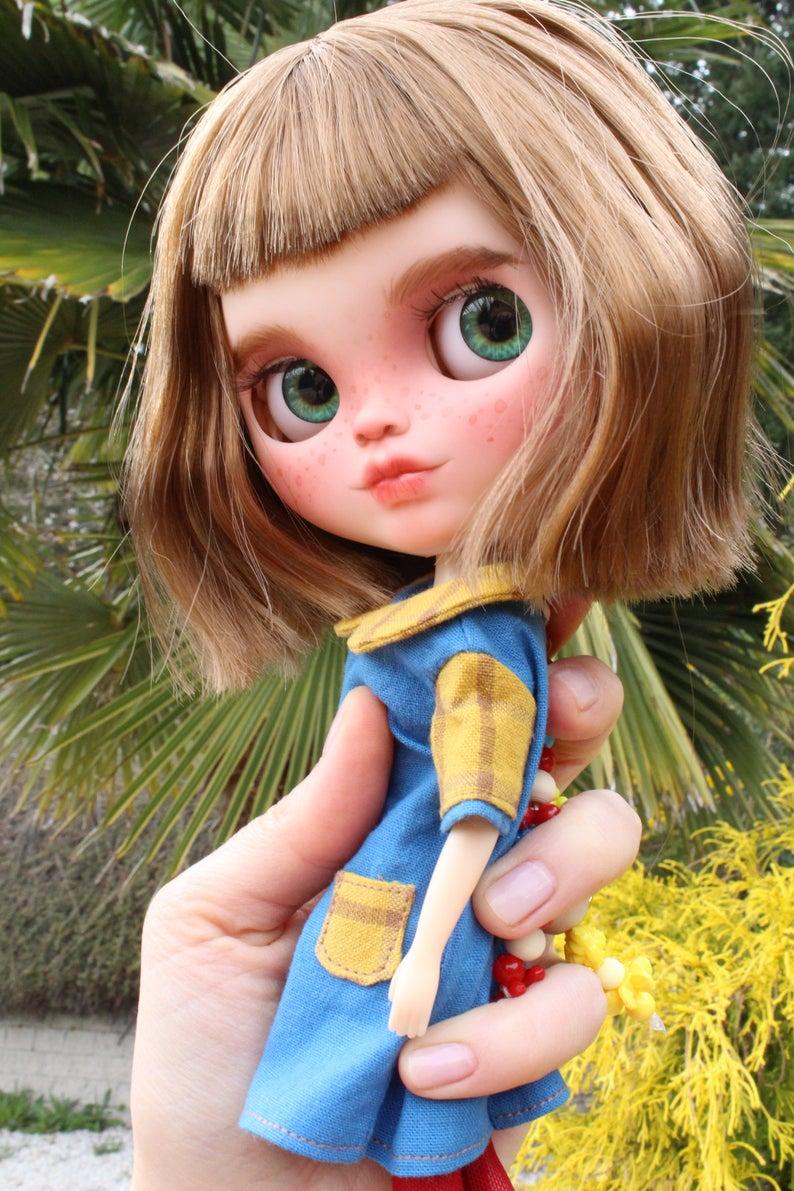 Fauna – Custom Blythe Doll One-Of-A-Kind OOAK Custom Blythe Doll (OOAK)
