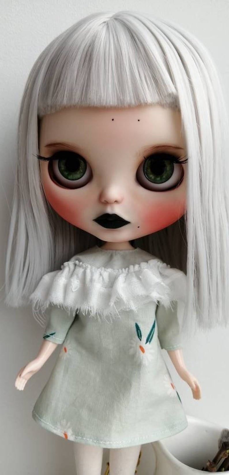 Francesca – Custom Blythe Doll One-Of-A-Kind OOAK Custom Blythe Doll (OOAK)
