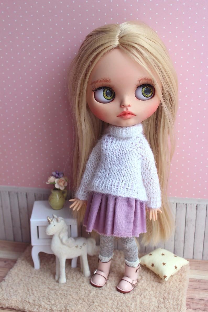 Hadley – Custom Blythe Doll One-Of-A-Kind OOAK Custom Blythe Doll (OOAK)