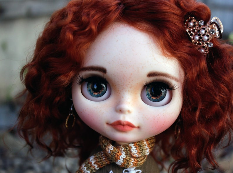 Harper - Custom Blythe Doll One-Of-A-Kind OOAK Custom Blythe Doll (OOAK)