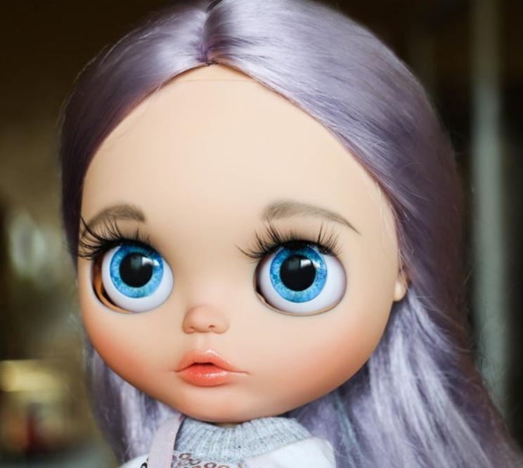 Hayley - Custom Blythe Doll One-Of-A-Kind OOAK Custom Blythe Doll (OOAK)