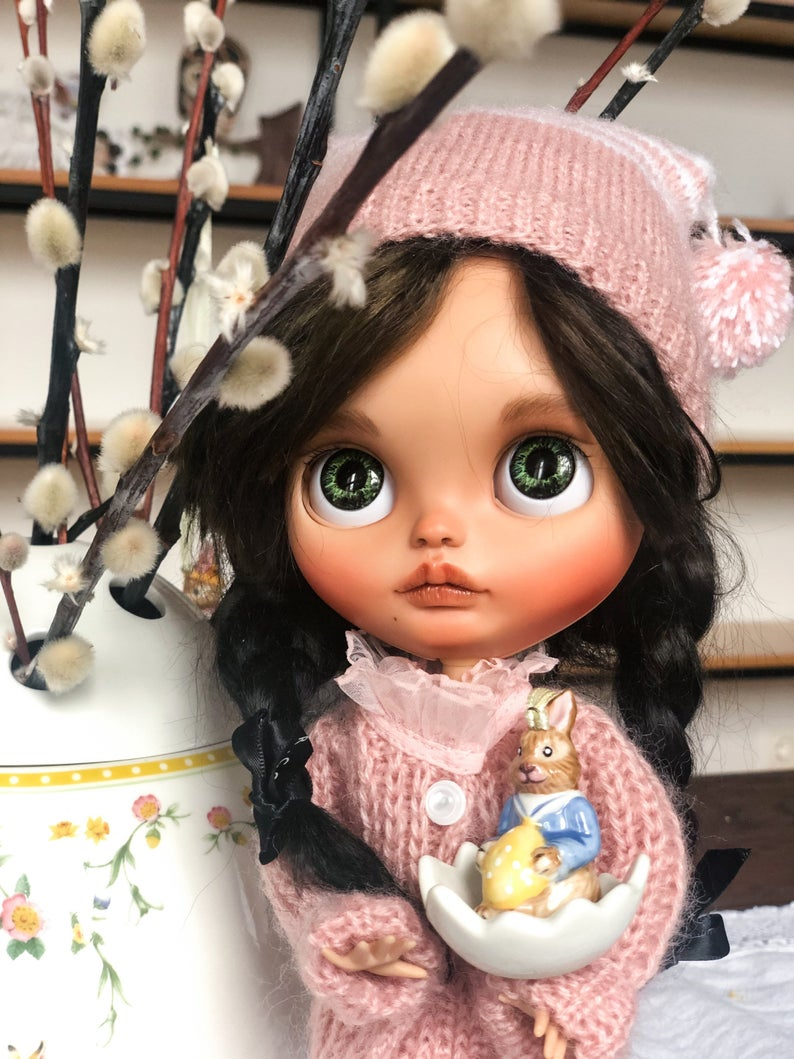Irma - Custom Blythe Doll One-Of-A-Kind OOAK Custom Blythe Doll (OOAK)