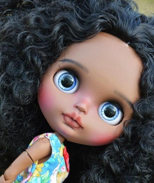 Jacey – Custom Blythe Doll One-Of-A-Kind OOAK Custom Blythe Doll (OOAK)