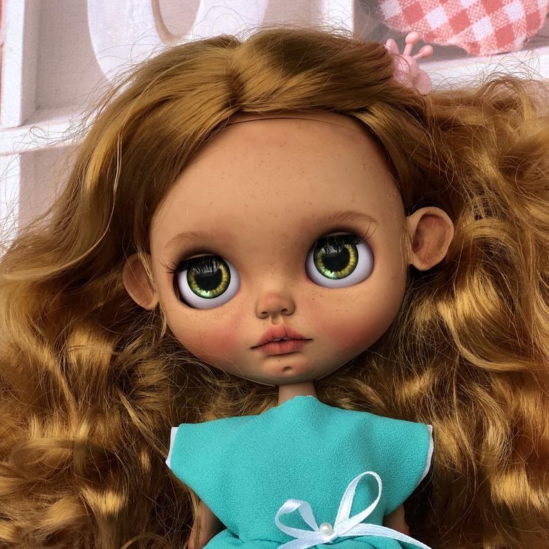 Jordyn - Custom Blythe Doll One-Of-A-Kind OOAK Custom Blythe Doll (OOAK)