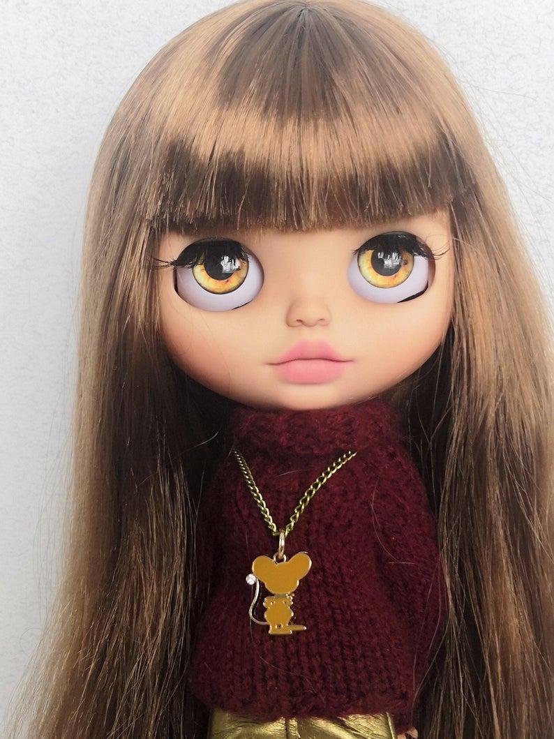 Julia - Custom Blythe Doll One-Of-A-Kind OOAK Custom Blythe Doll (OOAK)