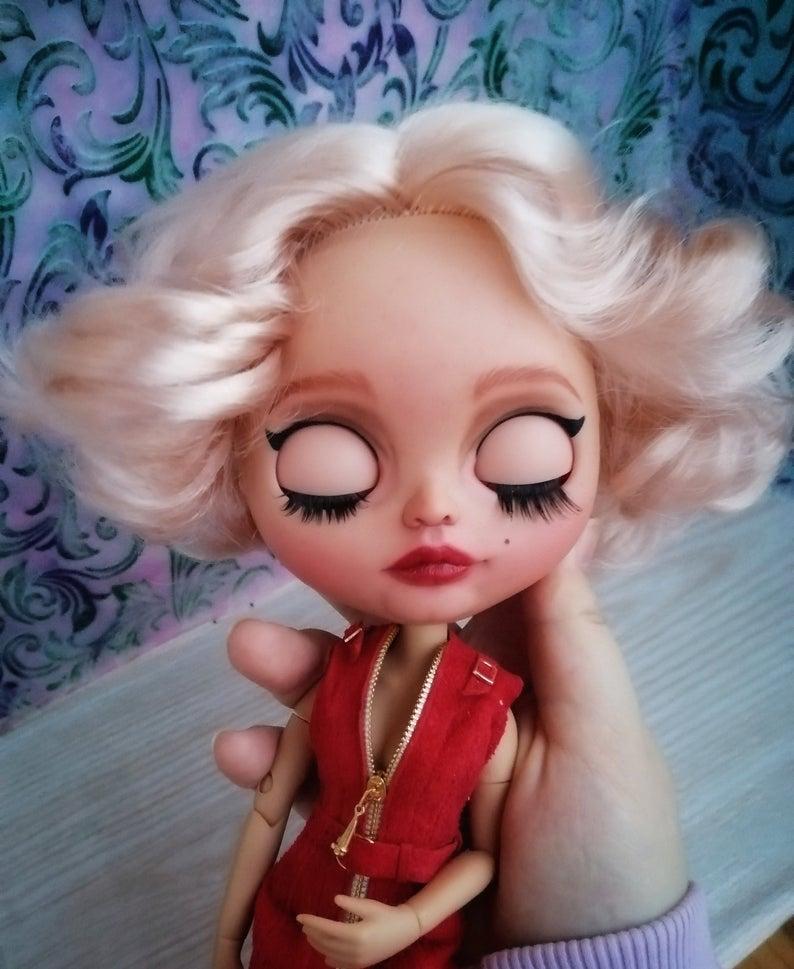 Layla - Custom Blythe Doll One-Of-A-Kind OOAK Custom Blythe Doll (OOAK)