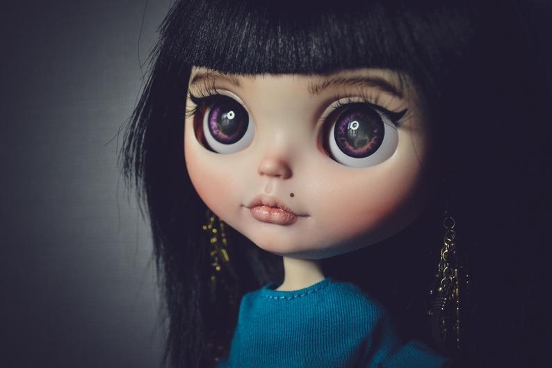 Lily - Custom Blythe Doll One-Of-A-Kind OOAK Custom Blythe Doll (OOAK)