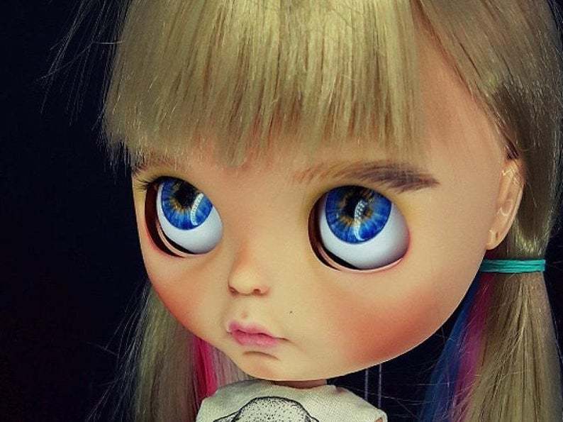Lisa - Custom Blythe Doll One-Of-A-Kind OOAK Custom Blythe Doll (OOAK)