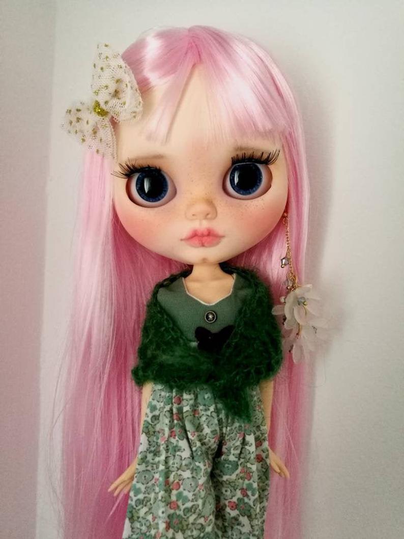 Maisie - Custom Blythe Doll One-Of-A-Kind OOAK Custom Blythe Doll (OOAK)