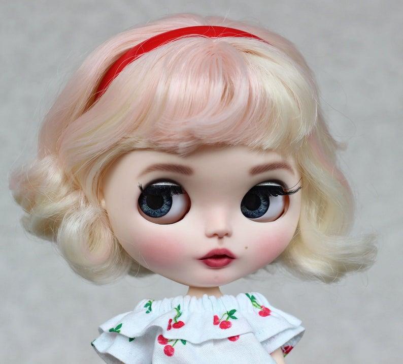 Marilyn Monroe – Custom Blythe Doll One-Of-A-Kind OOAK